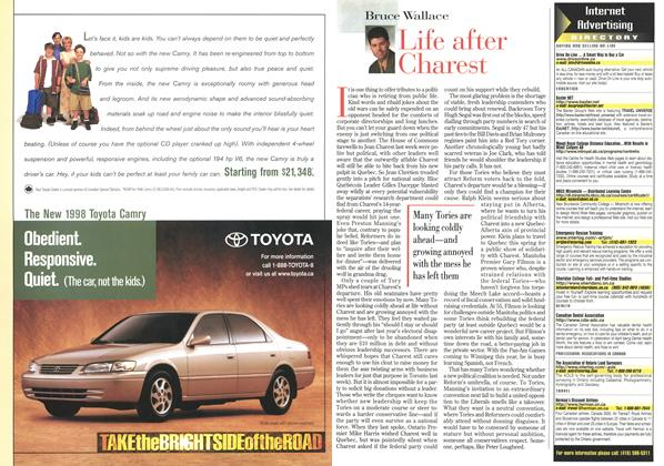 Article Preview: Life after Charest, April 1998 | Maclean's