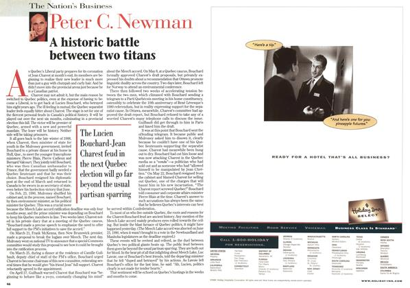 Article Preview: A historic battle between two titans, April 1998 | Maclean's
