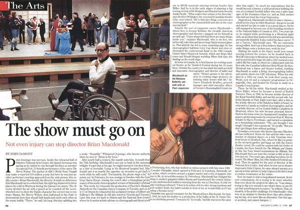 Article Preview: The show must go on, April 1998 | Maclean's