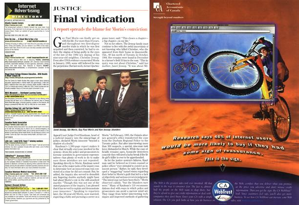 Article Preview: Final vindication, April 1998 | Maclean's