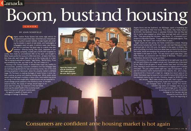 Article Preview: Boom, bust and housing, April 1998 | Maclean's