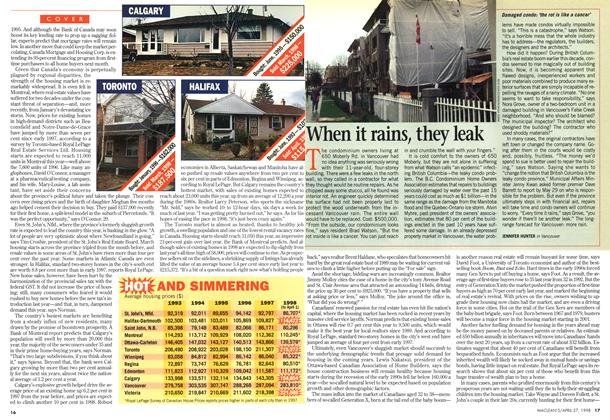 Article Preview: When it rains, they leak, April 1998 | Maclean's