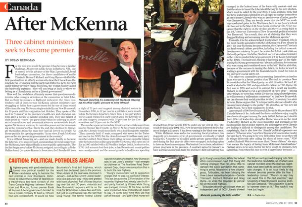 Article Preview: After McKenna, April 1998 | Maclean's