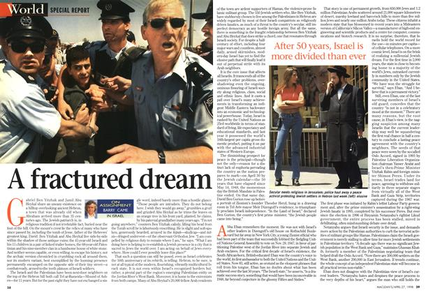 Article Preview: A fractured dream, April 1998 | Maclean's