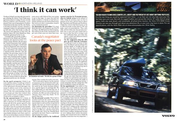Article Preview: 'I think it can work', April 1998 | Maclean's