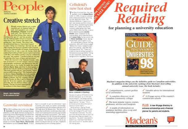 Article Preview: Creative stretch, April 1998 | Maclean's