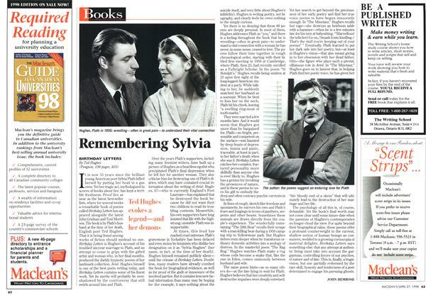Article Preview: Remembering Sylvia, April 1998 | Maclean's