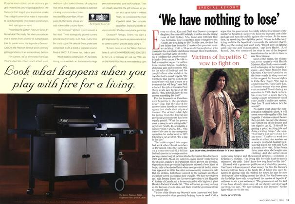 Article Preview: 'We have nothing to lose', May 1998 | Maclean's
