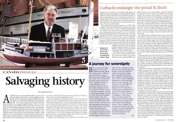 Article Preview: Salvaging history, May 1998 | Maclean's