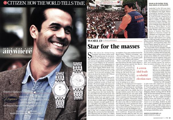 Article Preview: Star for the masses, May 1998 | Maclean's