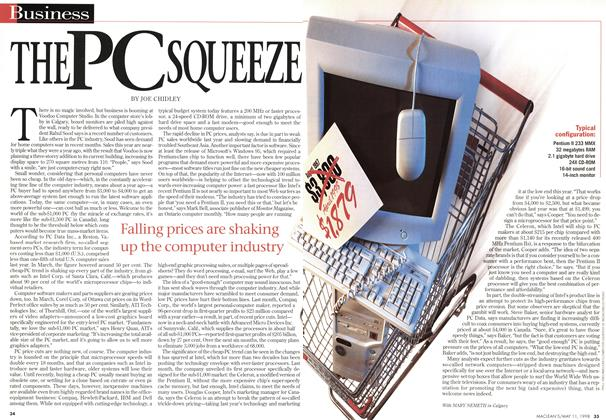 Article Preview: THE PCSQUEEZE, May 1998 | Maclean's