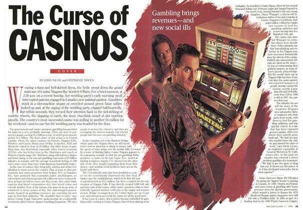 Article Preview: The Curse of CASINOS, May 1998 | Maclean's