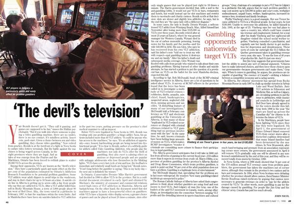 Article Preview: 'The devil's television', May 1998 | Maclean's