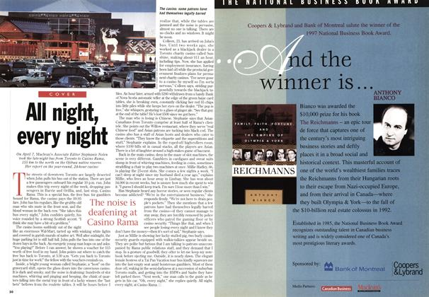 Article Preview: All night, every night, May 1998 | Maclean's