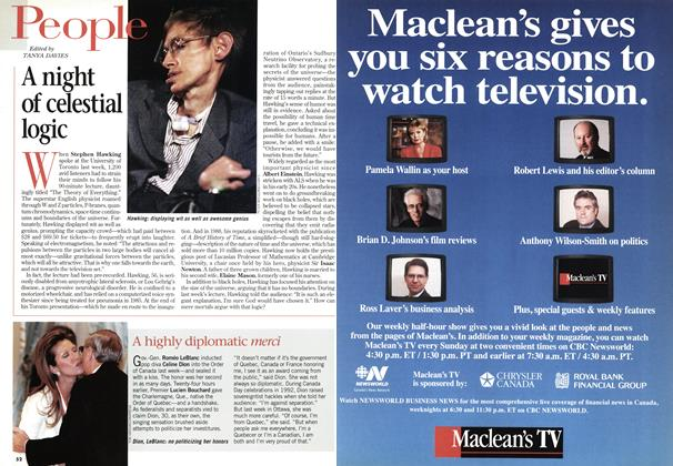 Article Preview: A night of celestial logic, May 1998 | Maclean's