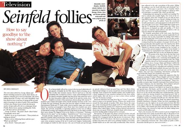 Article Preview: Seinfeld follies, May 1998 | Maclean's