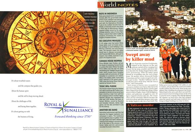 Article Preview: A Vatican murder, May 1998 | Maclean's