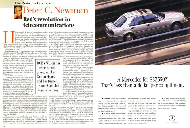Article Preview: Red's revolution in telecommunications, May 1998 | Maclean's