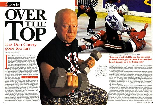 Article Preview: OVER THE TOP, May 1998 | Maclean's