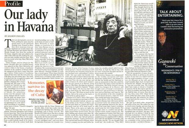 Article Preview: Our lady in Havana, May 1998 | Maclean's