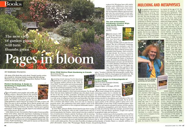 Article Preview: Pages in bloom, May 1998 | Maclean's