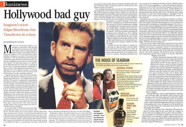 Article Preview: Hollywood bad guy, May 1998 | Maclean's