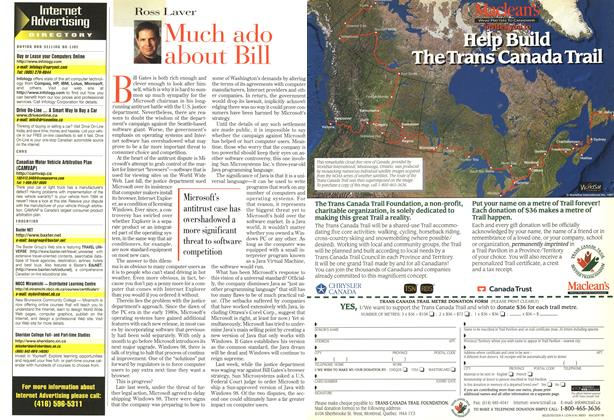 Article Preview: Much ado about Bill, May 1998 | Maclean's