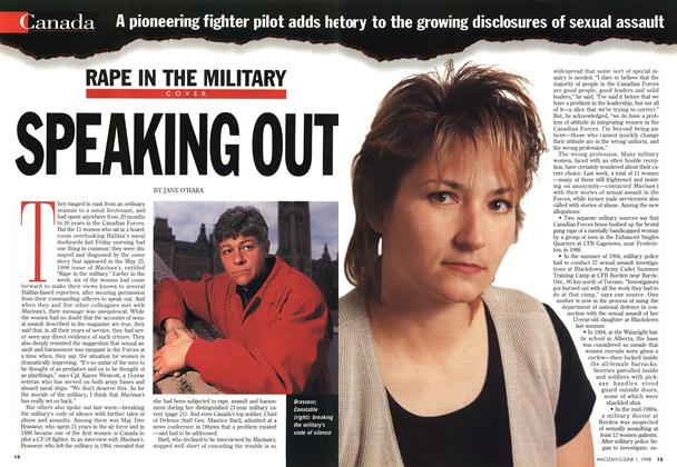 Article Preview: SPEAKING OUT, June 1998 | Maclean's