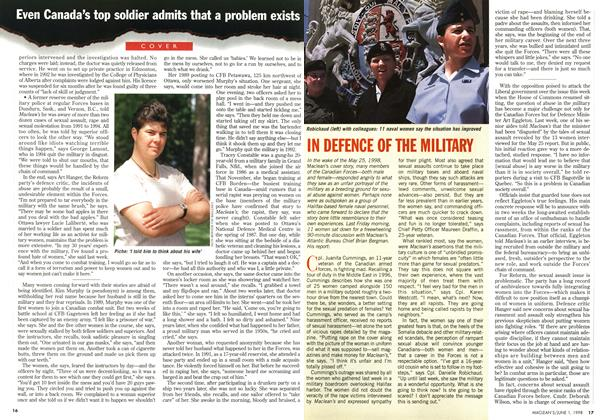 Article Preview: IN DEFENCE OF THE MILITARY, June 1998 | Maclean's