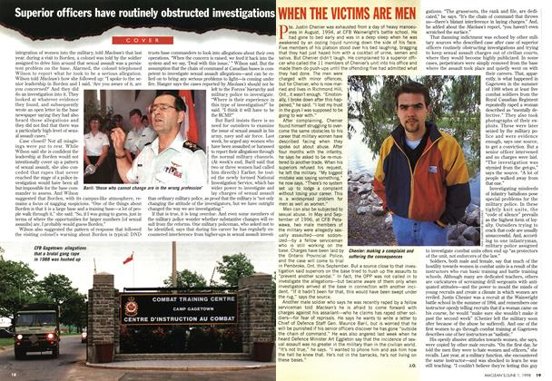Article Preview: WHEN THE VICTIMS ARE MEN, June 1998 | Maclean's