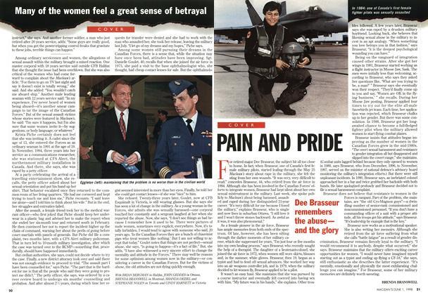 Article Preview: PAIN AND PRIDE, June 1998 | Maclean's