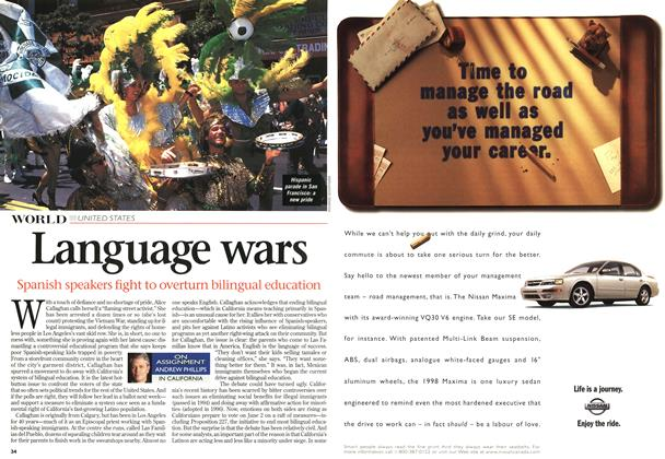 Article Preview: Language wars, June 1998 | Maclean's