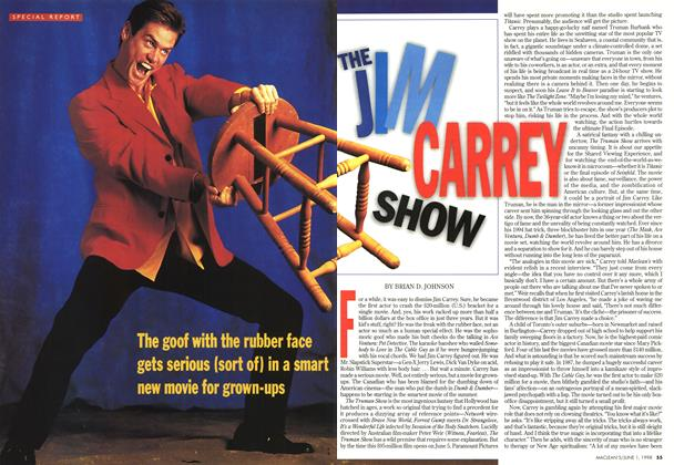 Article Preview: THE JIM CARREY SHOW, June 1998 | Maclean's
