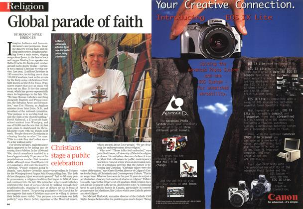 Article Preview: Global parade of faith, June 1998 | Maclean's