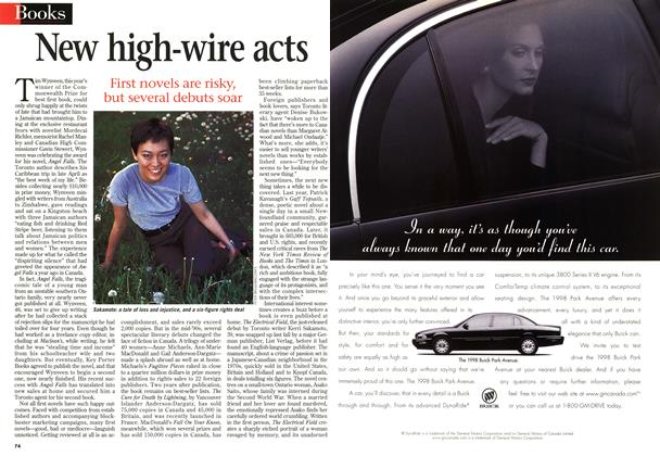 Article Preview: New high-wire acts, June 1998 | Maclean's