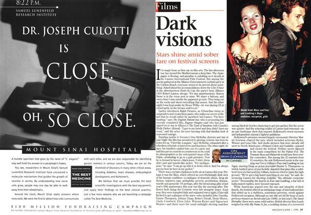 Article Preview: Dark visions, June 1998 | Maclean's