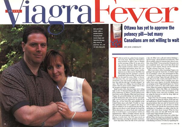 Article Preview: Viagra Fever, June 1998 | Maclean's