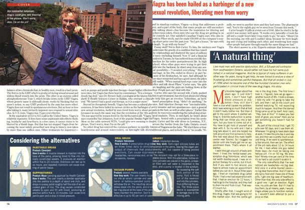 Article Preview: 'A natural thing', June 1998 | Maclean's