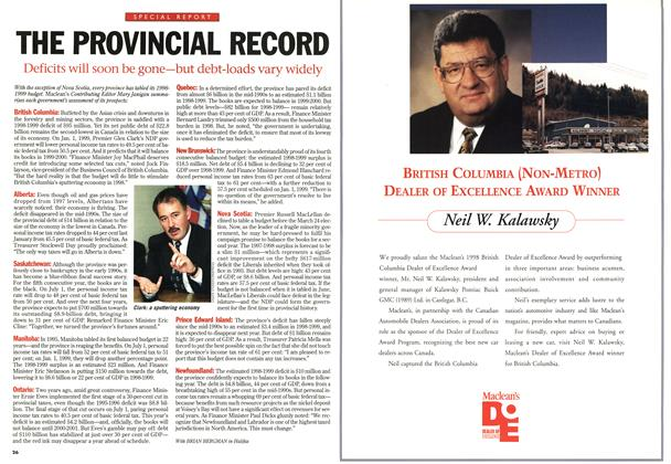 Article Preview: THE PROVINCIAL RECORD, June 1998 | Maclean's