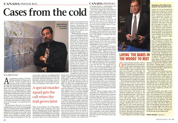 Article Preview: Cases from the cold, June 1998 | Maclean's