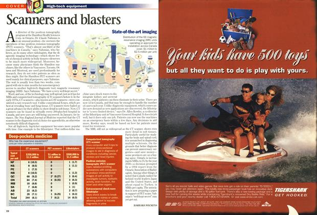 Article Preview: Scanners and blasters, June 1998 | Maclean's