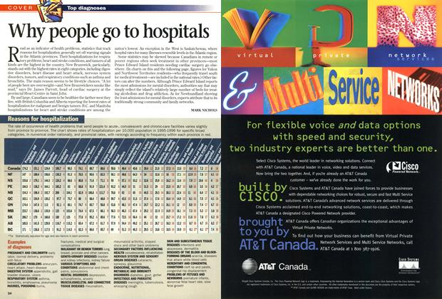 Article Preview: Why people go to hospitals, June 1998 | Maclean's