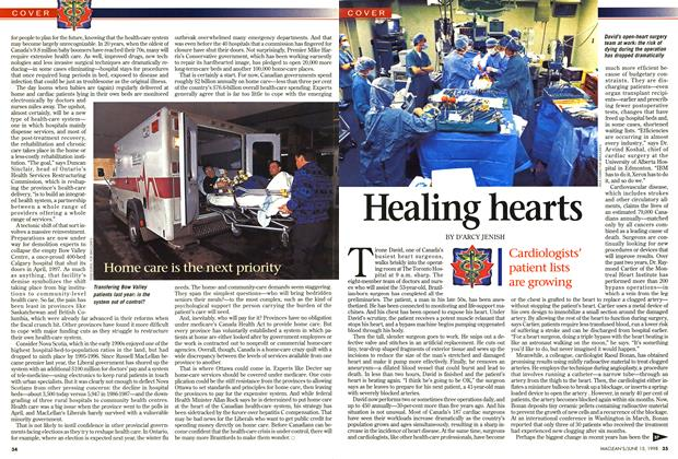 Article Preview: Healing hearts, June 1998 | Maclean's
