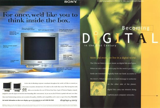 Article Preview: Becoming DiGITAL in the 21st Century, June 1998 | Maclean's