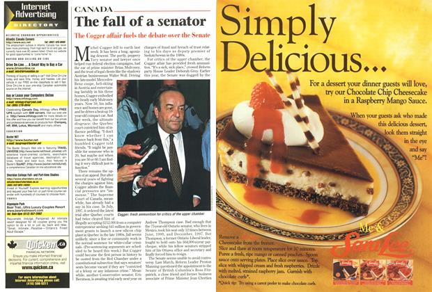 Article Preview: The fall of a senator, June 1998 | Maclean's