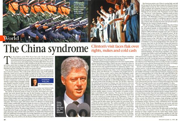 Article Preview: The China syndrome, June 1998 | Maclean's