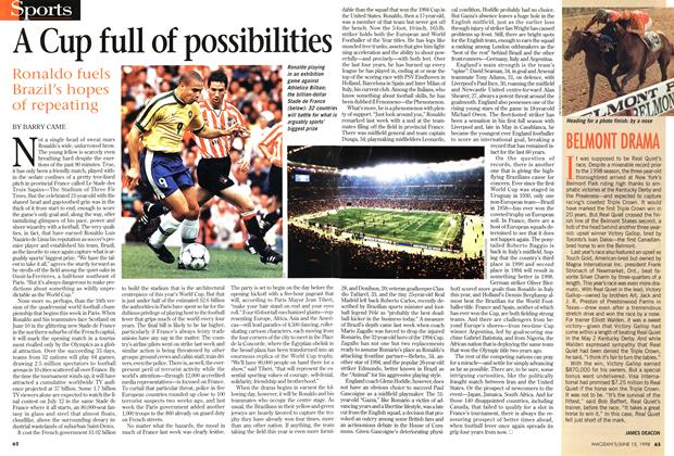 Article Preview: A Cup full of possibilities, June 1998 | Maclean's
