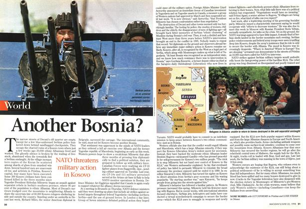 Article Preview: Another Bosnia?, June 1998 | Maclean's