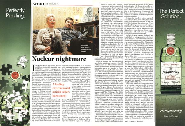 Article Preview: Nuclear nightmare, June 1998 | Maclean's