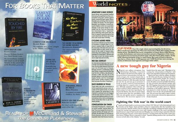 Article Preview: World NOTES, June 1998 | Maclean's